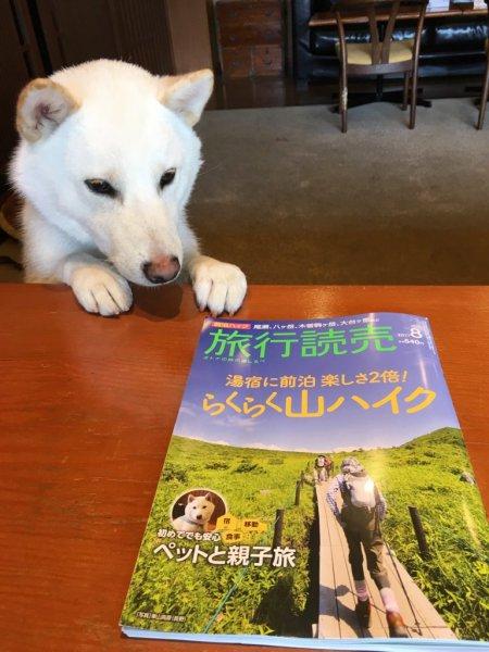 旅行読売8月号!