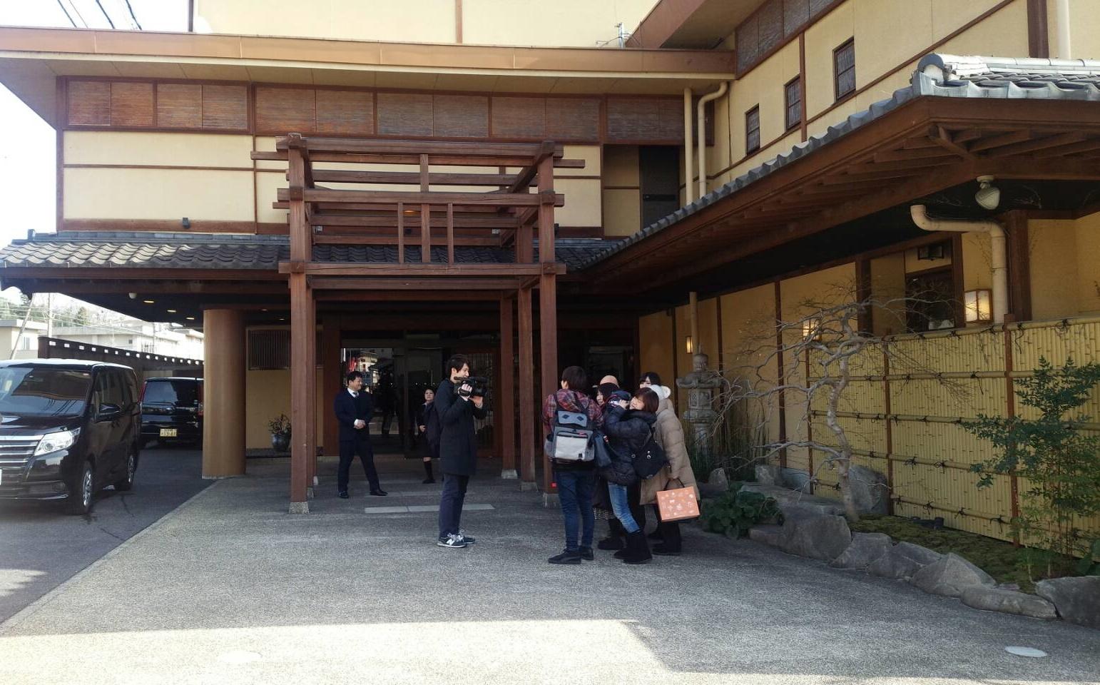 テレビ大阪「どうしても入りたい!関西の名湯・秘湯ベスト10」(仮)番組の取材がありました