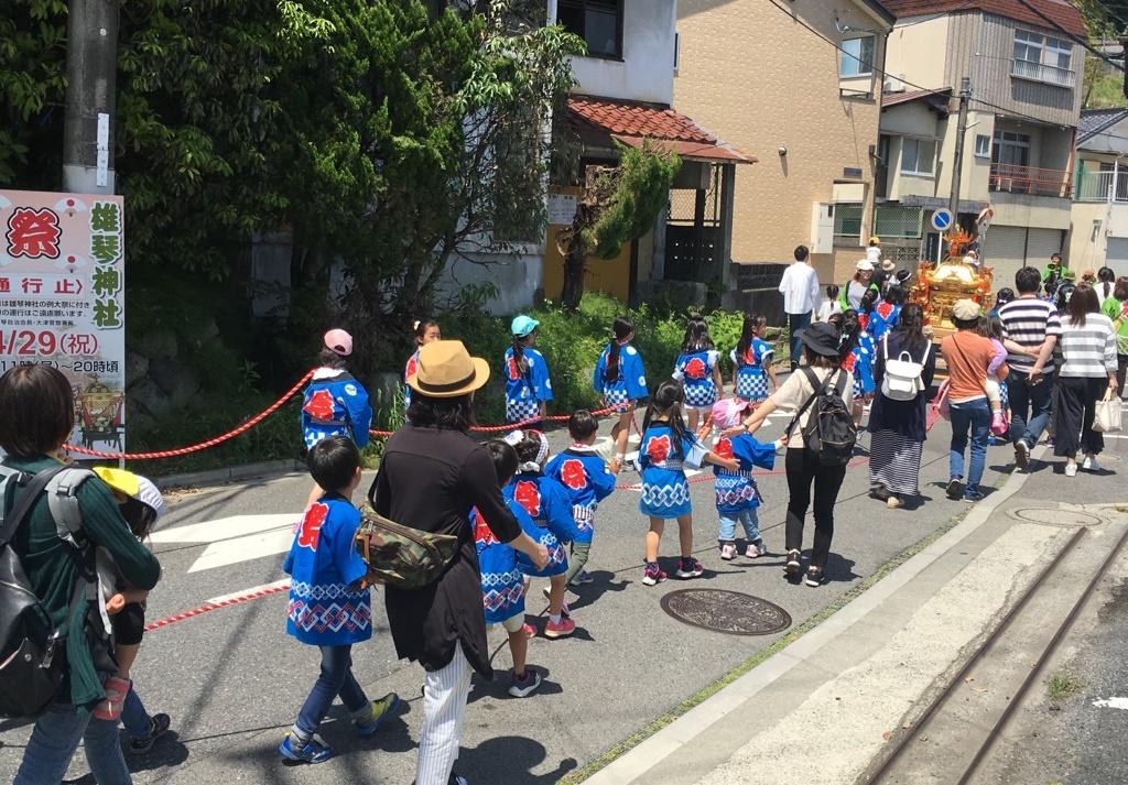 雄琴神社 お祭り