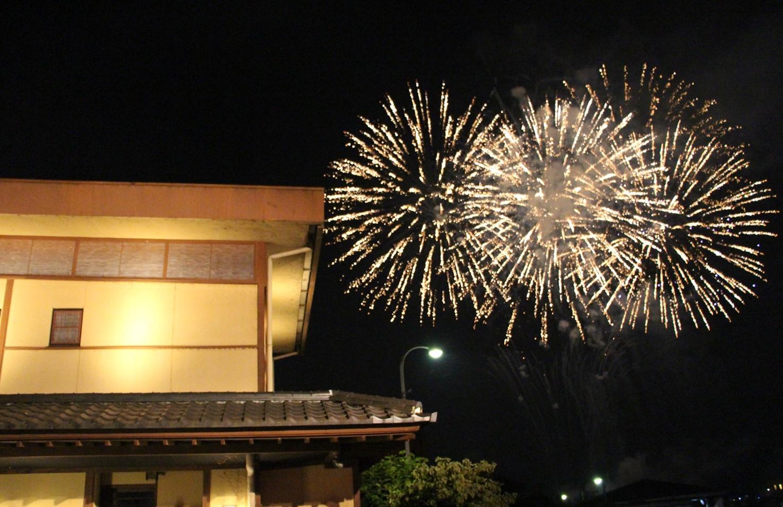 おごと温泉納涼花火大会2015 打ちあがりました!!