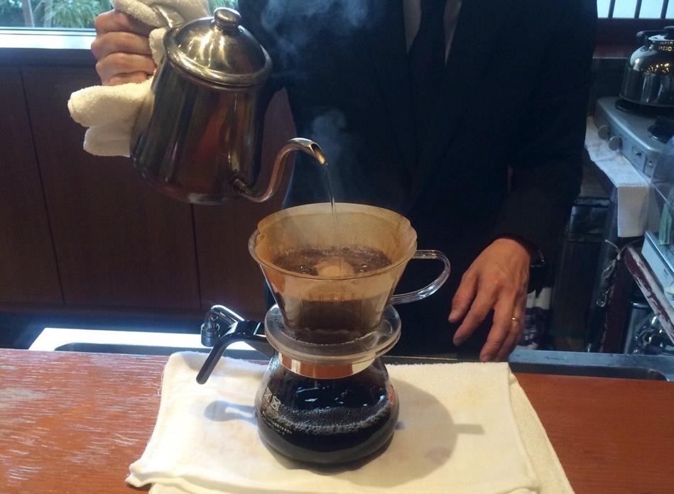 おいしいコーヒーをお淹れいたします