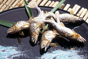鮎の塩焼き