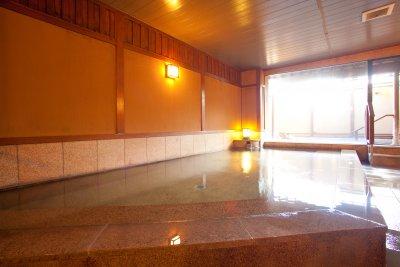 男性大浴場 琵琶の湯